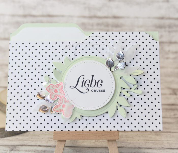 File Folder Card (Envelope Punch Board)