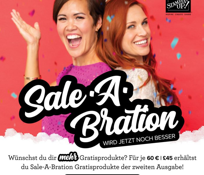 Sale-a-Bration geht in die 2. Runde
